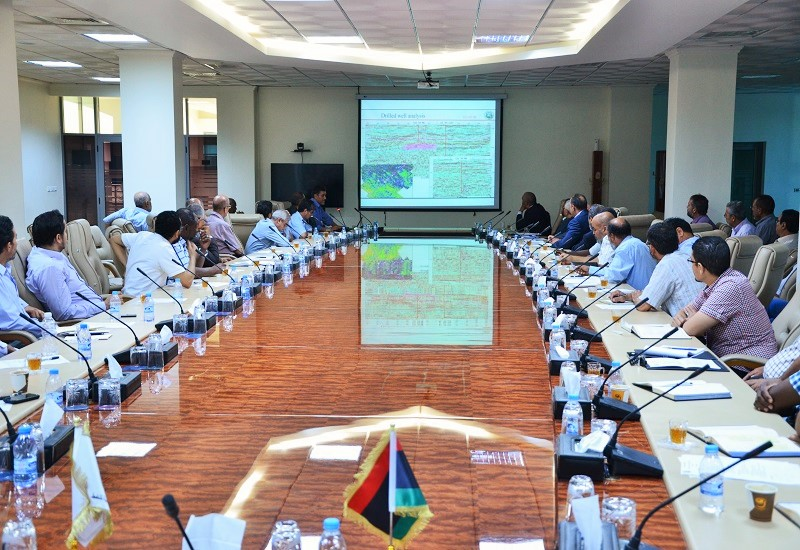 The technical meeting of NOC and Waha Oil Company's